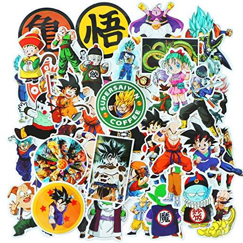 PAUBOLI Dragon Ball Z Onesie Baby Boy Cartoon Jumpsuit Cool Romper