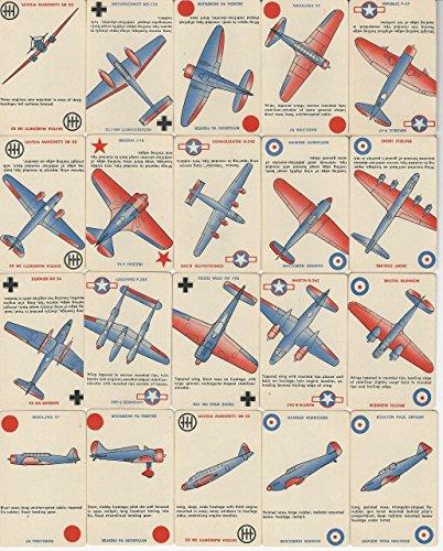 1942 Whitman, Squadron Scramble Airplane Card Game, Set of 45 With Box, ZQL