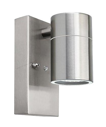 Outdoor Wall Lights Dusk Till Dawn: Modern Outdoor Wall Light Dusk Till Dawn Sensor Stainless
