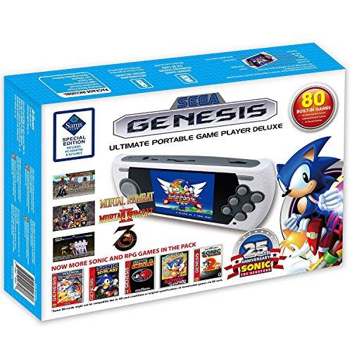 SEGA Genesis Ultimate Portable Game Player Deluxe with - Ultimate Sega Genesis Portable
