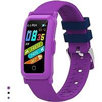 BingoFit Kids Fitness Tracker Horloge voor meisjes en jongens,Waterdichte activiteit Tracker met hartslagslaapmonitor…