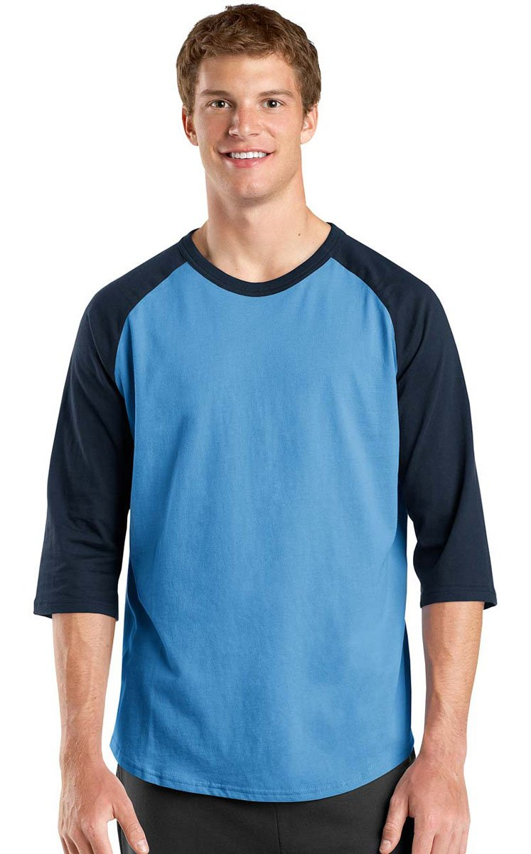 Sport-Tek SHIRT メンズ B014W0YNLA M Carolina Blue/Navy Carolina Blue/Navy M