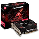 Placa de vídeo Powercolor radeon rx 550 4gb ddr5 128bits - axrx 550 4gbd5-dh