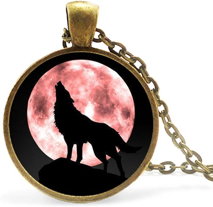 collier femme loup