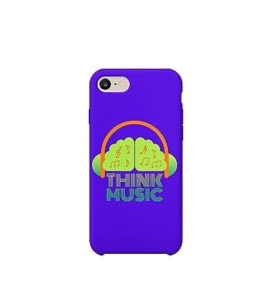 Amazon.com: Think Music Lyrics Life_A0470 Case for iPhone 8 ...