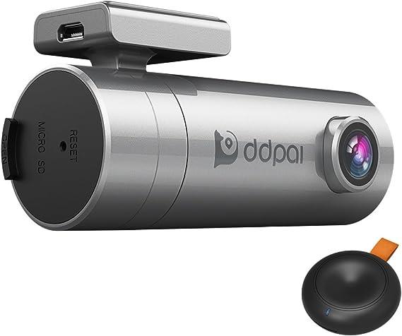 Loop Recording DDPai Mini2 Wi-Fi Dash Cam 1440P 2K Car Camera Built-in Supercapacitor Night Vision WDR 140/° Wide Angle Snapshot Button G-Sensor Parking Monitor