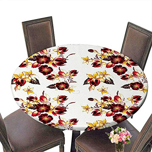 Cheery-Home Everyday Kitchen Tablecloth (Elastic Edge) Summer & Outdoor Picnics, (50