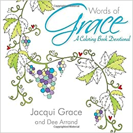 Book Words of Grace: A Coloring Book Devotional