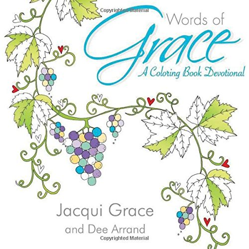 Words of Grace: A Coloring Book Devotional