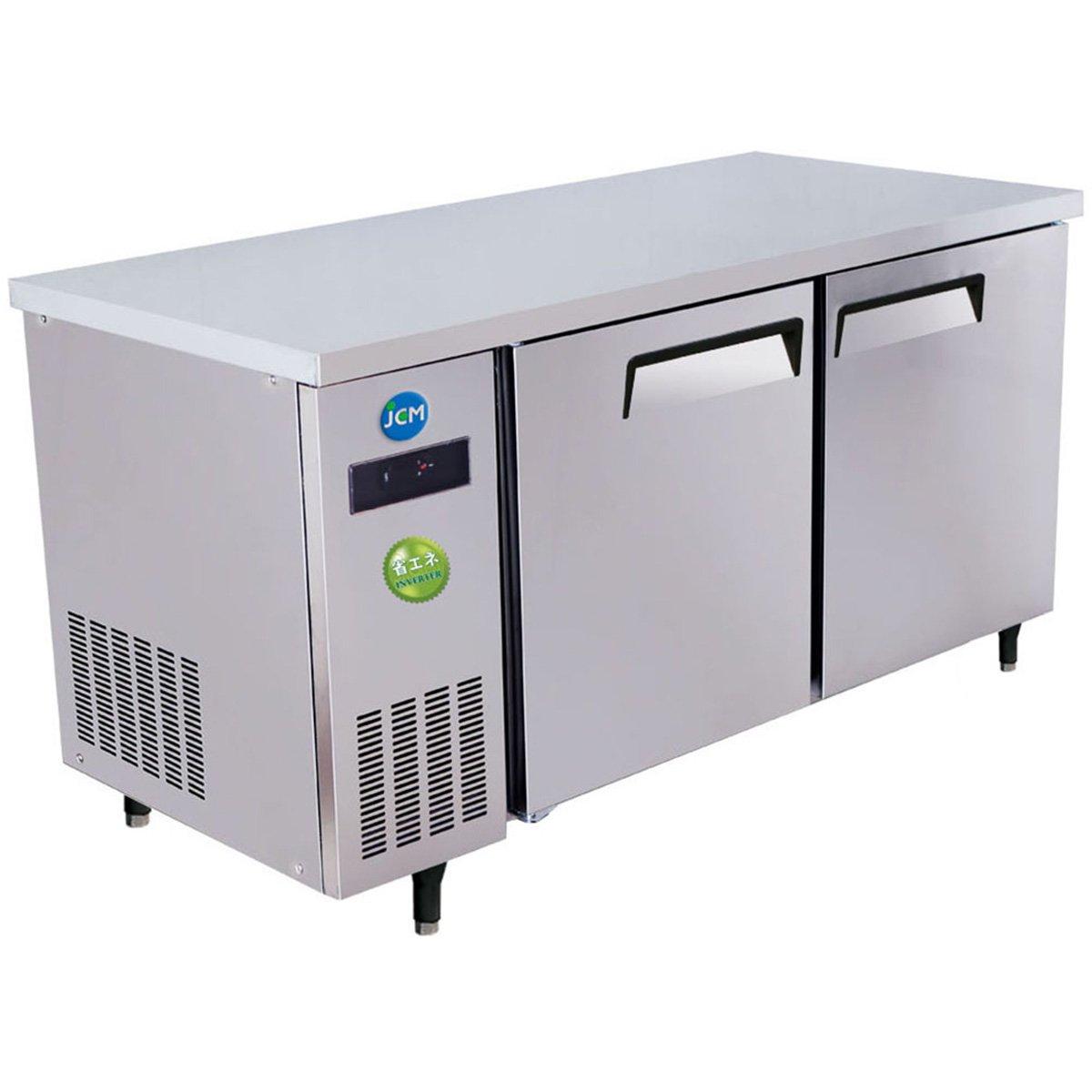 (ジェーシーエム)JCM 省エネIシリーズ ヨコ型2ドア冷蔵庫 JCMR-1575T-I 400リットル 幅1500×奥行750×高さ800mm   B06XL16MMF
