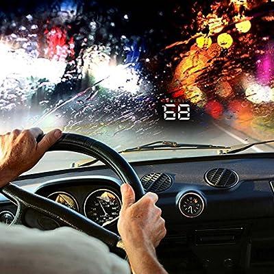 lansiZD Video Projector 3 5 inch Car Digital Head Up Display