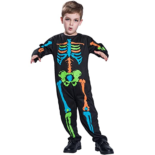 EraSpooky Boys Halloween Cute Skeleton Costume Suit(As Picture Small)  sc 1 st  Amazon.com & Amazon.com: EraSpooky Boys Halloween Cute Skeleton Costume Suit ...