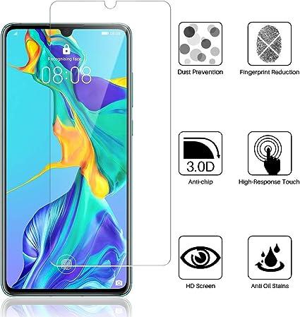 Madan - Protector de Pantalla de Cristal Templado para Huawei Y6 ...