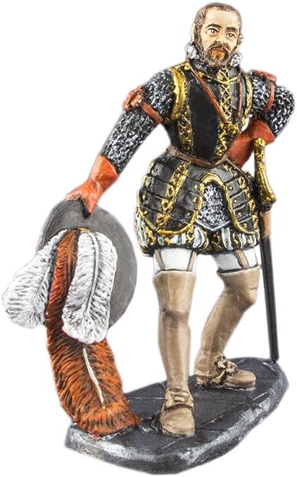 Philip 2 de España Militar líder pintado a mano 54 mm de figuras de acción de