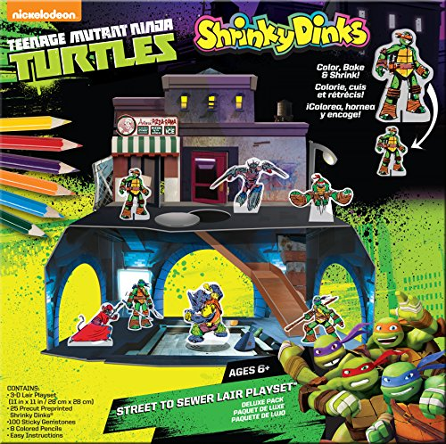 Teenage Mutant Ninja Turtles Shrinky Dinks Playset -