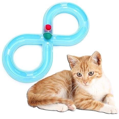 cuckoo-X Juguetes de Pelota de Gato, Mejor Juguete para Gatos y ...