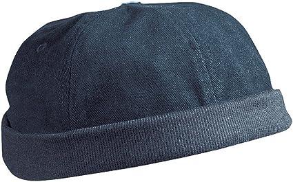 Taille Unique -  Noir MB 022 Casquette chef cap /à 6 panneaux//Myrtle Beach