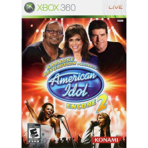 Karaoke Revolution Presents: American Idol Encore 2 USED SEALED (Xbox 360) (Idol Games American Konami Karaoke)