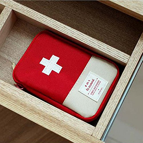 Muranba Medical Bag Emergency Survival Drug Storage Kit Treatment Outdoor Home Rescue (S) by Muranba Dress (Image #2)