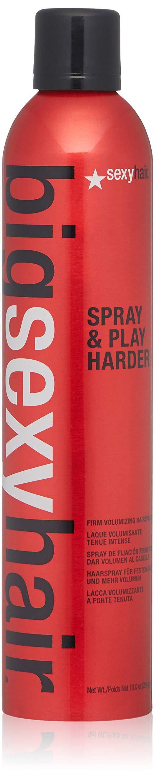 SEXYHAIR Big Spray & Play Harder Firm Volumizing Hairspray, 10 oz by SEXYHAIR