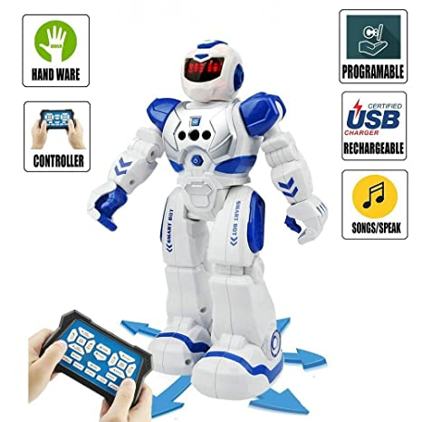 Amazon Com Remote Control Dancing Robot Programmable Rc Robots