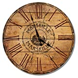 Gizaun Art Marseille France Outdoor Wall Clock