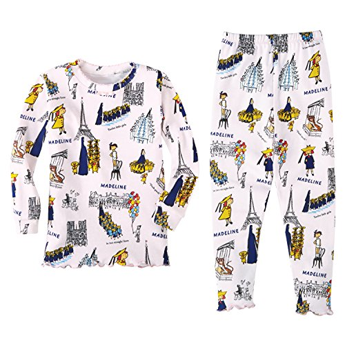 Price comparison product image Books to Bed Girl's Madeline Cotton Pajamas (2T)