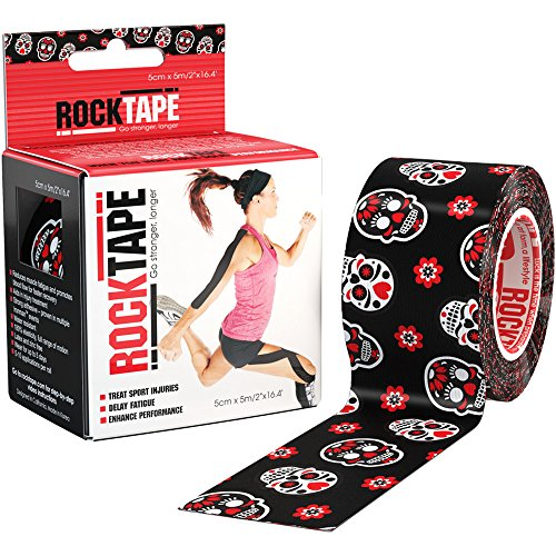 (RockTape Kinesiology Tape for Athletes, Water Resistant, Reduce Pain & Injury Recovery, 2