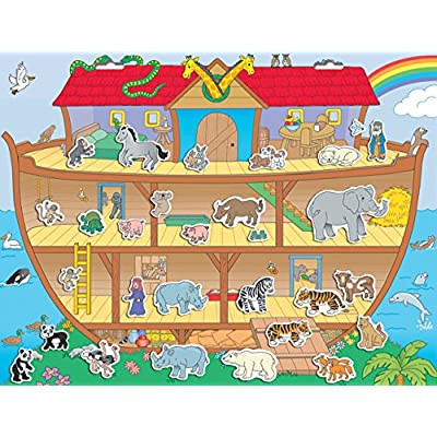 Create-A-Scene Magnetic Playset - Noah's Ark: Toys & Games