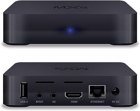 Globmall MXQ Android 6.0 TV Box Amlogic Quad Core 1GB/8GB True 4K Smart TV WiFi Reproductor Multimedia: Amazon.es: Electrónica