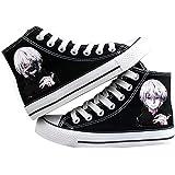 c4d7fd1e589ea Amazon.com: Tokyo Ghoul Anime Ken Kaneki Cosplay Shoes Canvas Shoes ...