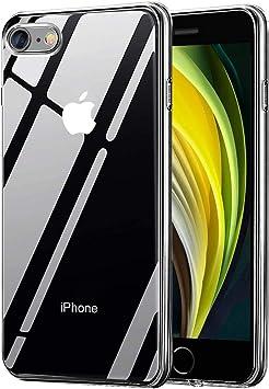 Migimi Funda iPhone SE 2020, iPhone 7/8 Carcasa Silicona Gel TPU ...