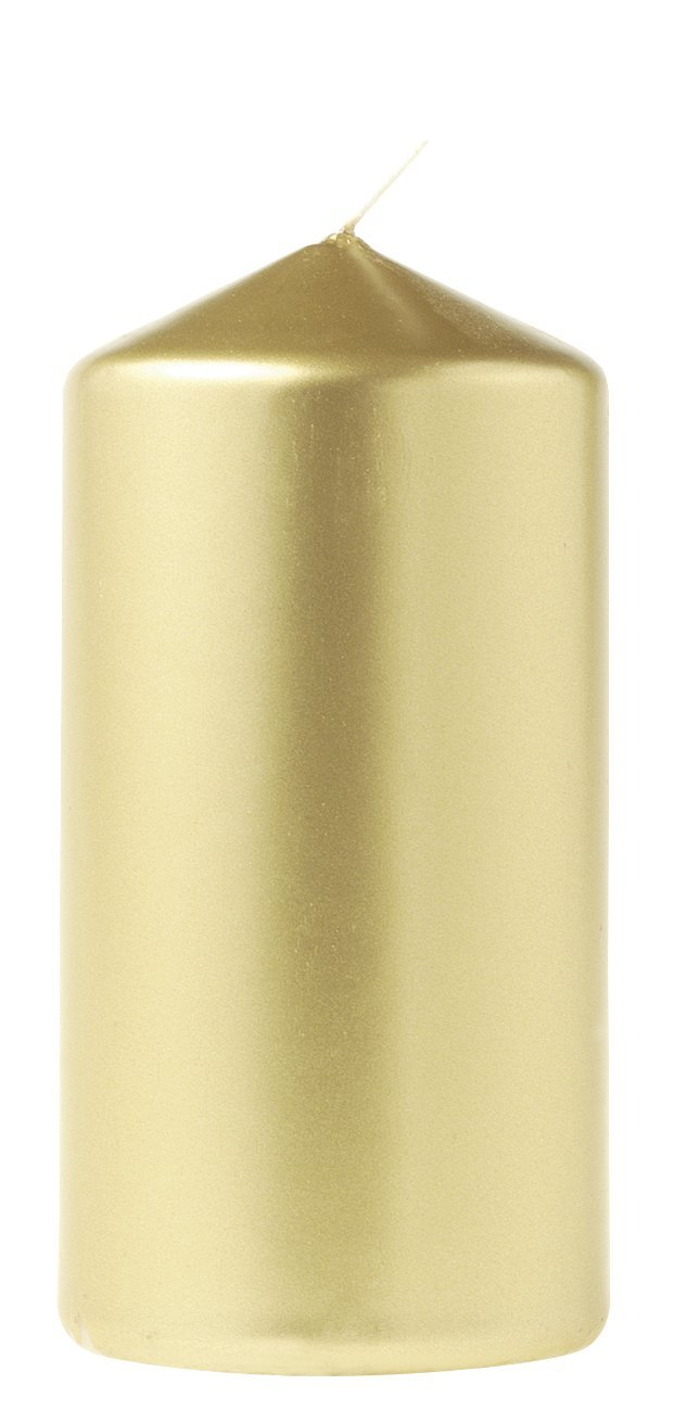Eika 12414712pilastro candela 13.5x 7cm oro