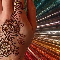 Arte Corporal Purpurina Cono - Muchos Colores Disponible - Tatuaje ...