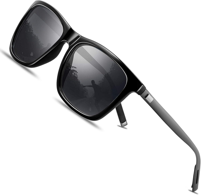 FEIDU Retro Polarisierte Damen Sonnenbrille- Herren Sonnenbrille Outdoor UV400 Brille - Sonnenbrille billig