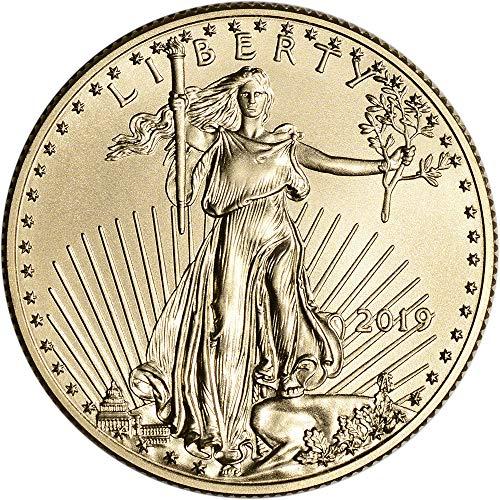 2019 American Gold Eagle (1/2 oz) $25 Brilliant Uncirculated US Mint