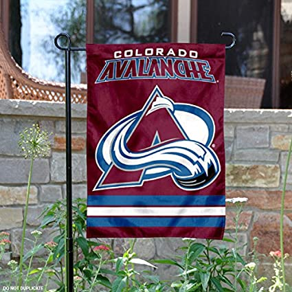 Image Unavailable. Image not available for. Color  Wincraft Colorado  Avalanche Double Sided Garden Flag 25d0cb03a7ed