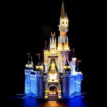 Lightailing Light Set For Disney Castle Building Blocks Model