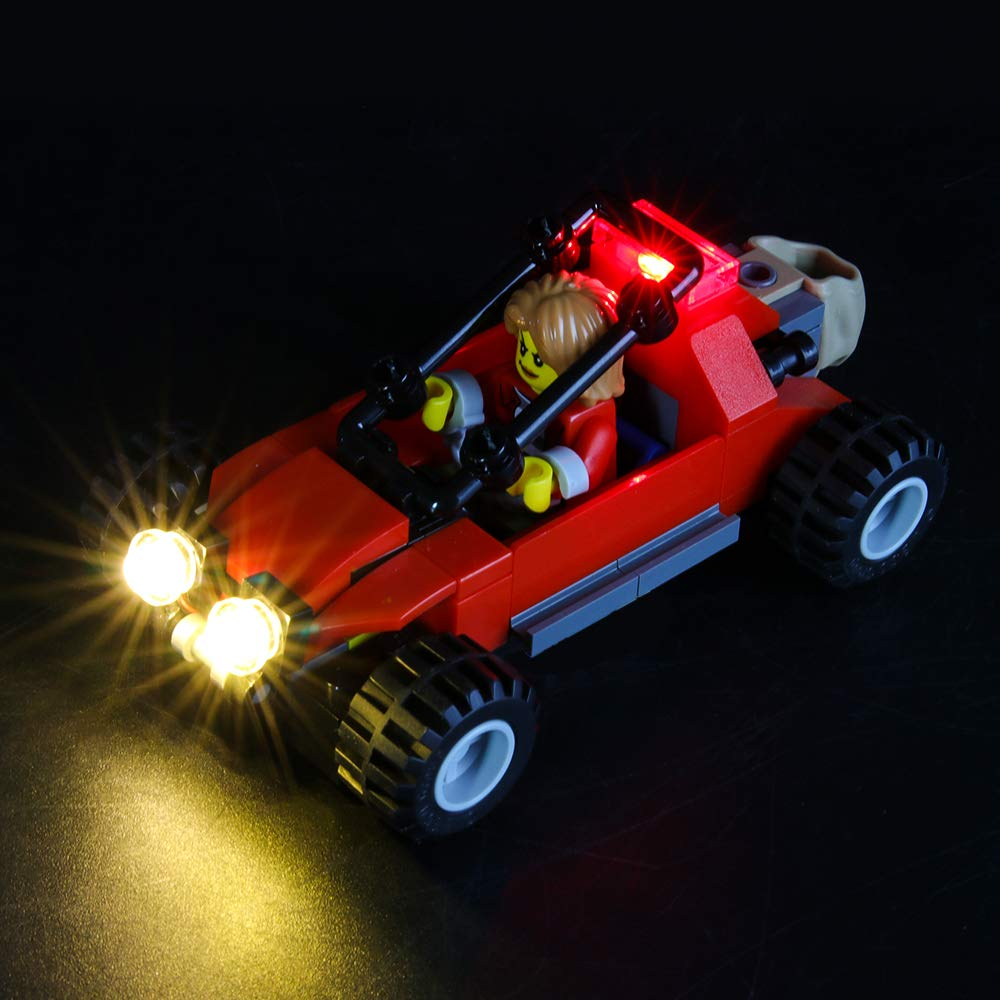 Compatible with Lego 60173 Building Blocks Model BRIKSMAX Led Lighting Kit for City Mountain Arrest Not Include The Lego Set