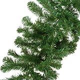 GardenersDream CHRISTMAS DECORATION - a 9ft undecorated xmas green pine garland