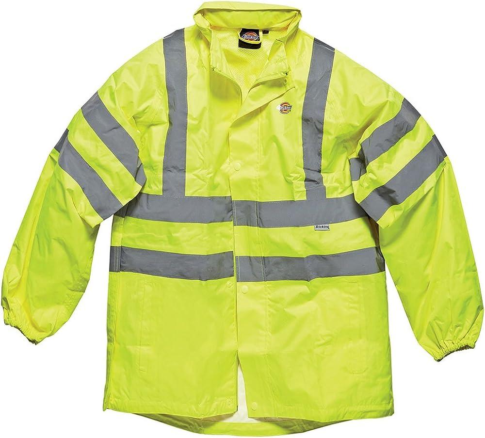 Dickies Mens Workwear Hi Vis Lightweight Jacket Yellow SA22042Y: Amazon.es: Bricolaje y herramientas