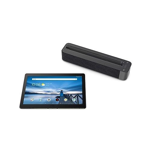 Lenovo Smart TabM10 Tablet 10 1 FullHD con Amazon Alexa integrada Snapdragon 450 RAM 2GB Memoria Interna 16GB Android 8 0 Color Negro Altavoz Dolby Atmos incluido