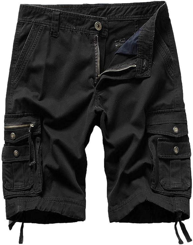 MXJEEIO💖Geographical Norway Hombre Cortos Cargo Pantalones Cortos ...