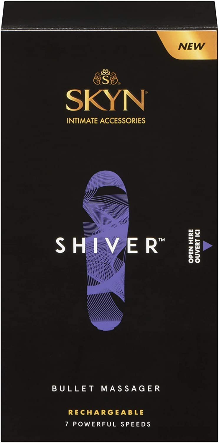 The Lifestyles Skyn Shiver Massager travel product recommended by Emma Stoneham on Pretty Progressive.