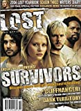 Emilie de Ravin, Naveen Andrews, Dominic Monaghan & Harold Perrineau - Lost, The Official Magazine 2006 Yearbook [Issue #16, September/October 2006, 100 Pages]