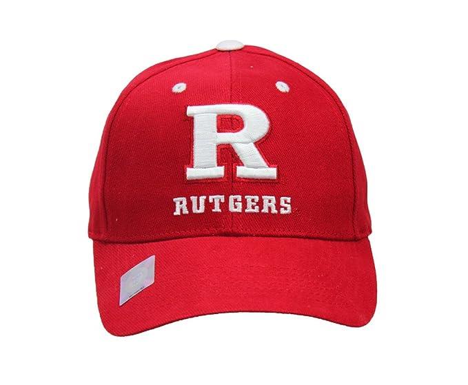 Amazon.com  Collegiate Headwear Men s Rutgers Scarlet Knights ... 7493b57746a