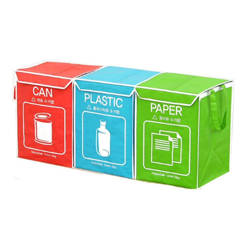 Amazon.com: Recycle bin Separate Bag Wastebaskets Trash Can ...