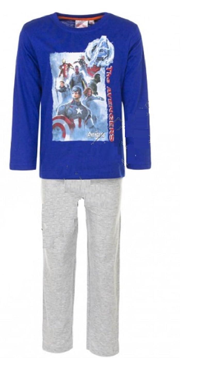 4c0ca275a0a Boys Kids Marvel Avengers Short Long Pyjamas PJ Set Age 3 4 5 6 7 8 ...