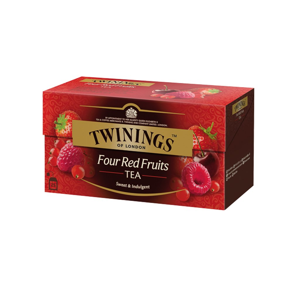 Twinings Of London Té 4 Red Fruits - 25 Bolsitas: Amazon.es: Alimentación y bebidas