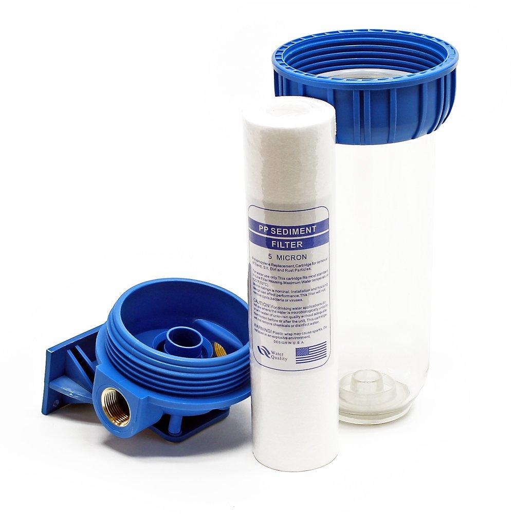 cl/é cartouche polypropyl/ène Naturewater NW-BR10B-S 1 etape syst/ème filtre 26.16mm 3//4 clamp